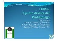 Luigi Sciangula Struttura Semplice Dipartimentale di Diabetologia e ...