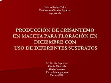 Diapositiva 1 - facultad ciencias agrarias - universidad de talca