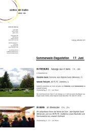 Rundbrief Mai 2011 - Cantina del Mulino