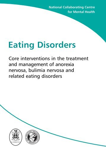 Eating Disorders - National Institute for Health and Clinical Excellence