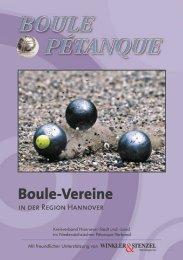 Boule-Vereine- in Hannover 2011 herunter laden - Planetboule