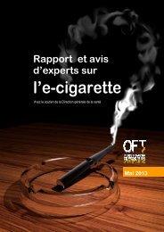 rapport sur l'e-cigarette - Rtbf