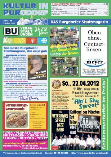 kulturpur - Jazzfreunde-Burgdorf