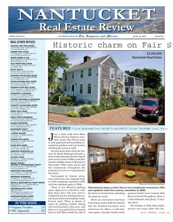 Real Estate Review - The Inquirer and Mirror