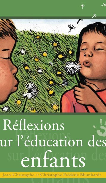Réflexions sur l'éducation des enfants - Plough