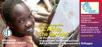 L'Africa che sorride - Africa Mission