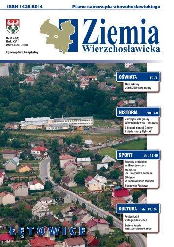 Ziemia Wierzchosławicka - numer 3(66) - Gmina Wierzchosławice