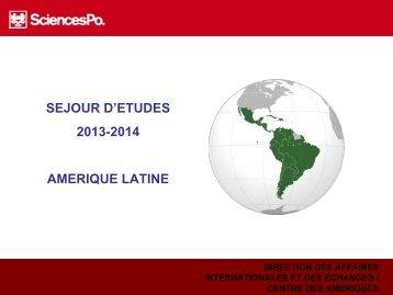 présentation - Centre des Amériques - Sciences Po