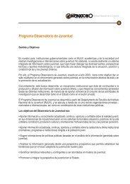 Programa Observatorio de Juventud - Inicio - Injuv