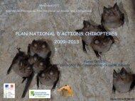 bilan PNA Chiroptères 2009-2012 - DREAL Haute-Normandie
