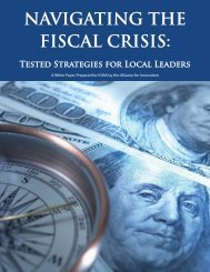 Navigating the Fiscal Crisis - Michigan Local Government ...