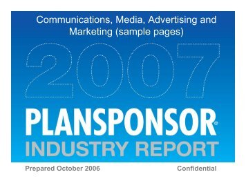 Communications, Media, Advertising and Marketing (sample pages)