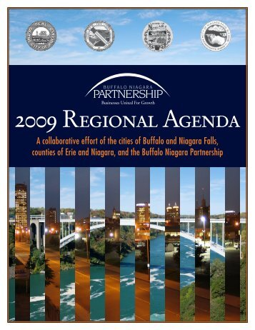 2009 Regional Agenda - Buffalo Niagara Partnership
