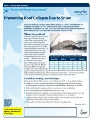 Preventing Roof Collapse Due to Snow - Harleysville Insurance
