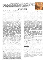 PARROCCHIA SAN NICOLA da TOLENTINO Santa ... - Sanpantalon.it