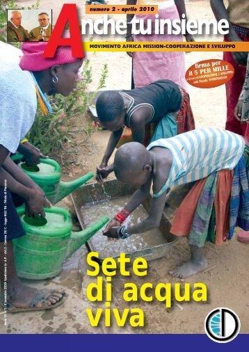 Maggio 2010 - Africa Mission