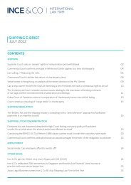 SHIPPING E-BrIEf JULY 2012 - Society of Maritime Industries
