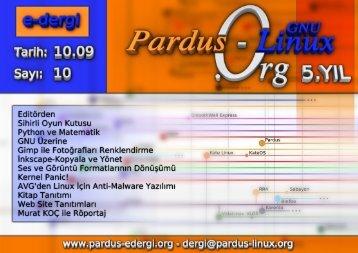 SAYI 10 - Pardus-eDergi.org