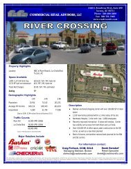 River Crossings - Commercial Retail Advisors, LLC.