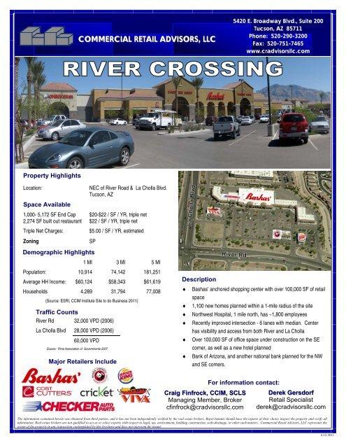 River Crossings - Commercial Retail Advisors, LLC.
