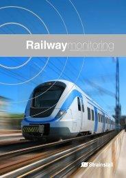 Railway monitoring brochure - Strainstall UK