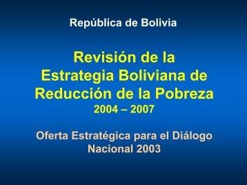 EBRP 2003 - Unidad de Análisis de Políticas Sociales y Económicas