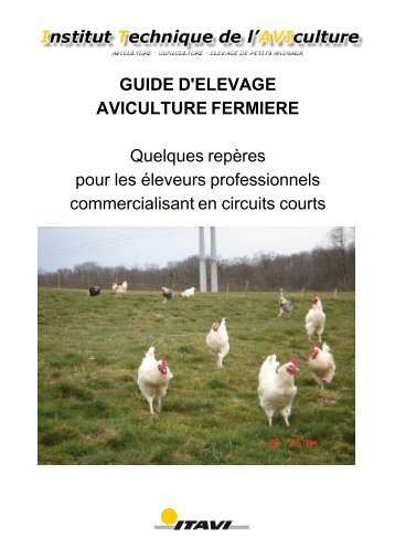 GUIDE D'ELEVAGE - Institut Technique de l'AVIculture