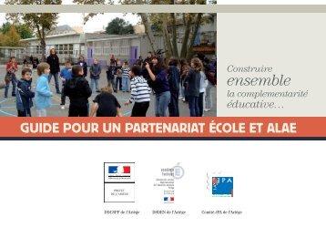 Guide pour un partenariat école et ALAE - La Jeunesse au Plein Air