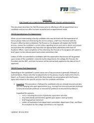 TACOE guidelines - Academic Affairs