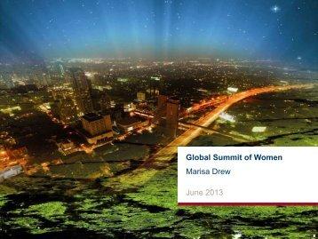 Marisa Drew - GlobeWomen
