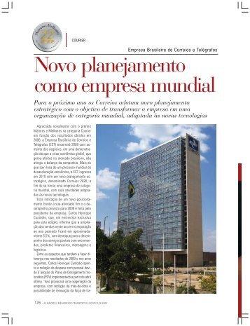 Novo planejamento como empresa mundial