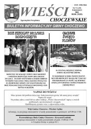 Wieści Choczewskie - Powiatowa i Miejska Biblioteka Publiczna w ...