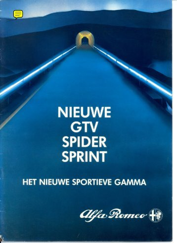 Het sportieve gamma (B-nl), 1983 - GTV6 et 156 GTA