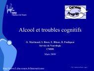 alcool - CHU de Rouen