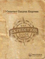 Cataract Express » Utah - Western River Expeditions