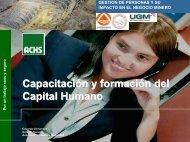 Presentacion del Gerente General de la Asociacion Chilena de ...
