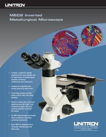 MEC2 Inverted Metallurgical Microscope - Unitron