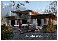 Clubportrait zum Download - Ruder Club Sarnen