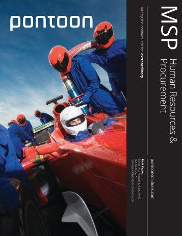Human Resources & Procurement - Pontoon Solutions