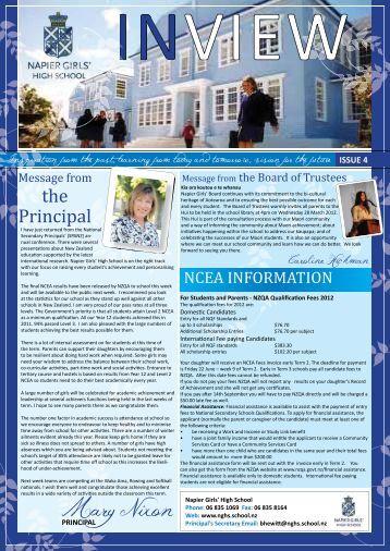 Issue 4 23-March 2012 - Napier Girls' High School