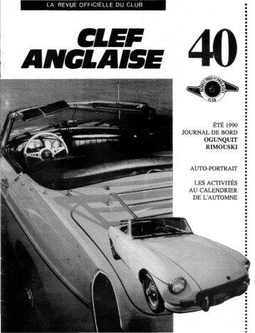 OGUNQUIT - Club Automobile Le Rendez-Vous des Anglaises.