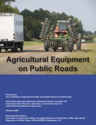 Operating Agricultural Equipment on Public Roads