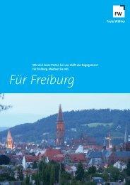 Für Freiburg - Freie Wähler Freiburg