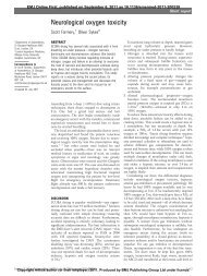 Neurological oxygen toxicity - Koh Tao EMS