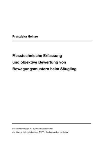 Messtechnische Erfassung und objektive Bewertung von ...