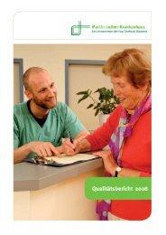 Qualitätsbericht 2008 - Paul Gerhardt Diakonie