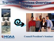 TOPS - Military Officers Association of America