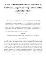 A New Method for Performance Evaluation of Bit Decoding ... - CST