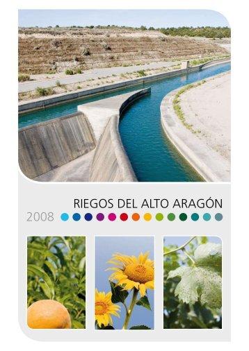 RIEGOS DEL ALTO ARAGÓN 2008