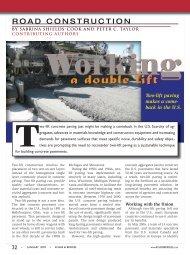 Two-lift paving makes a come - Roads & Bridges